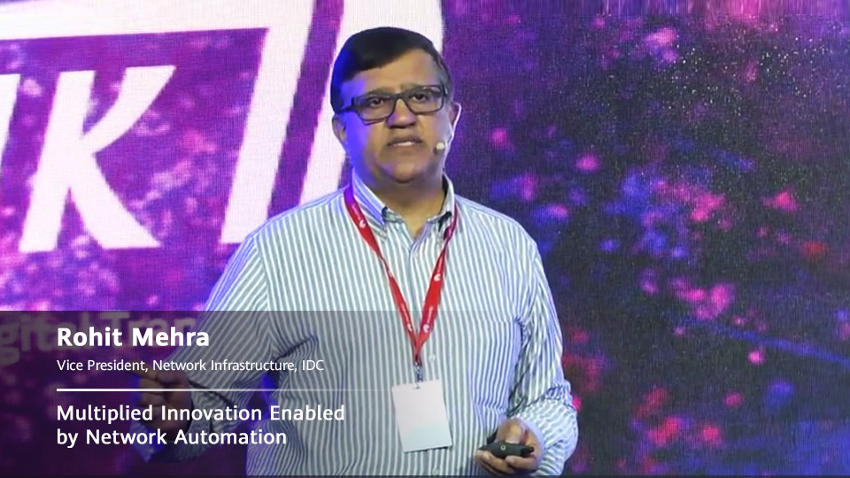 IP Club 2019 Highlight Keynote |  Multiplied Innovation Enabled by Network Automation
